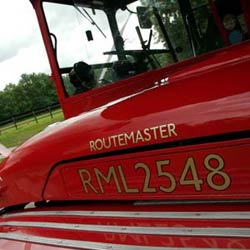 Vintage Routemaster Bus RM2548 for Hire