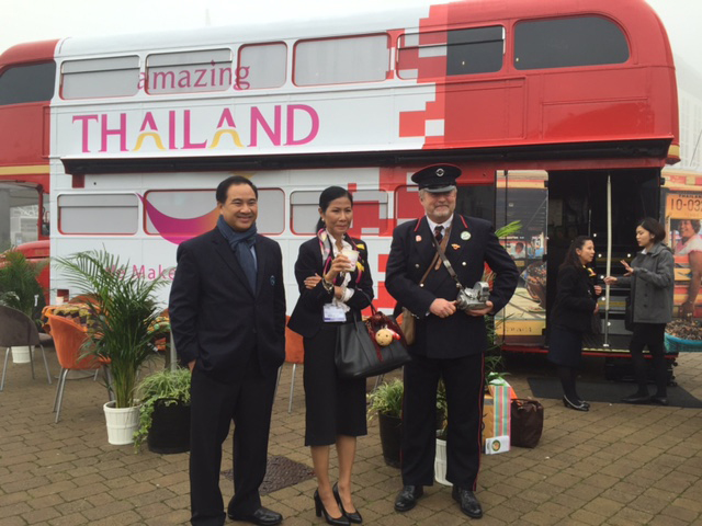 thailand bus and staff static bus hire
