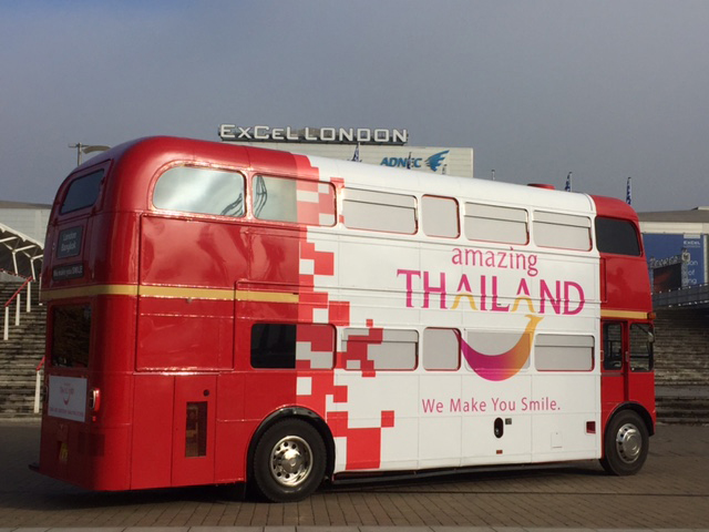 thailand bus static bus hire