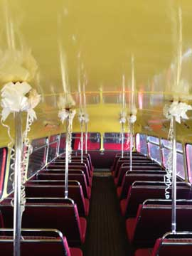 Bus wedding Decorations