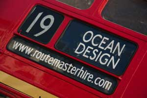 Personalised bus blinds