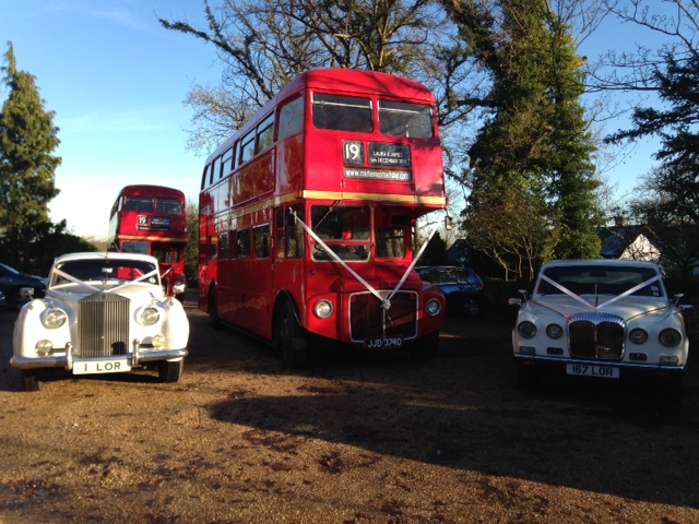 Buses and Rolls Royces