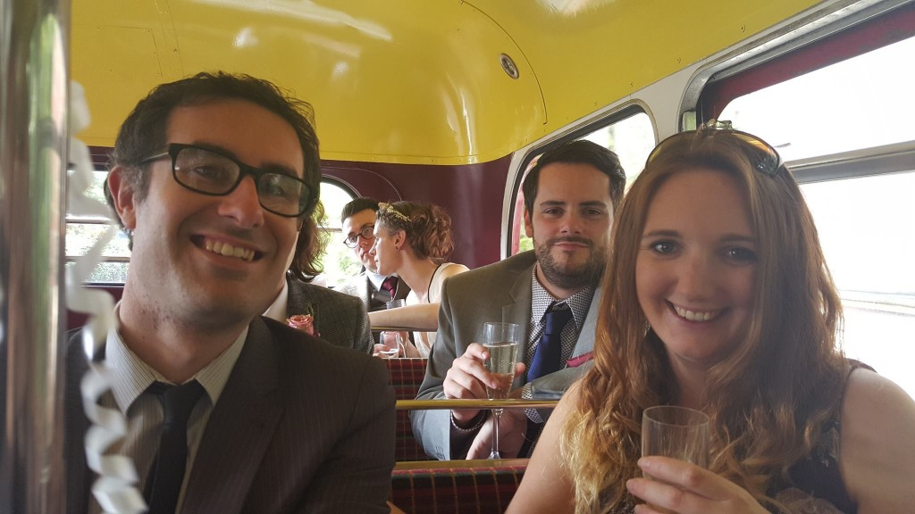 Emilie Giles' Wedding Day 29.9.15