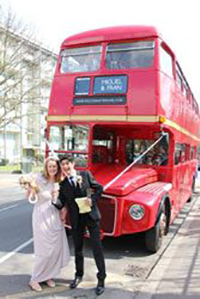 Amazing Wedding Bus Hire Routemaster-Hire