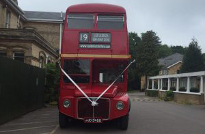 Wonderful Wedding Day Routemaster-Hire