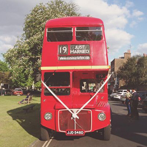 Fantastic Wedding Bus Hire Routemasterhire