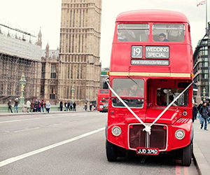Westminster Wedding Bus Hire Routemasterhire