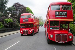 Natalie London Red Bus Hire Routemasterhire