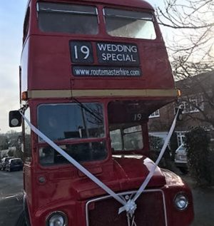 Diana Wedding Bus Hire Routemasterhire