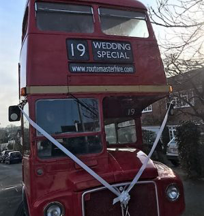 London Wedding Routemaster-Hire
