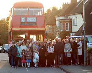 Mikes 70th Birthday London Bus Hire