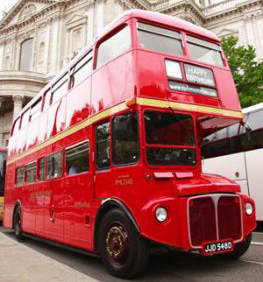 Red Bus Tour of London Routemaster-Hire