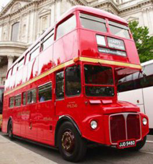 Red Bus Tour of London Routemasterhire