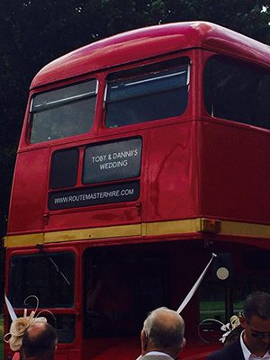 Wedding Bus Hire Service Routemasterhire
